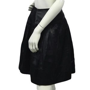 BCBG Skirts - BCBG Black Satin Skirt Size 10 (SKU 000028)